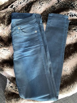 7 For All Mankind Skinny jeans donkerblauw