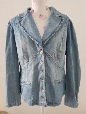 Schöne Jeans Blazer von Hucke Berlin Gr 40