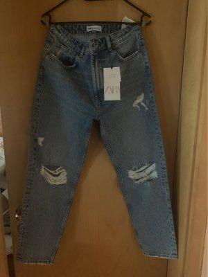Zara Boyfriend Jeans blue