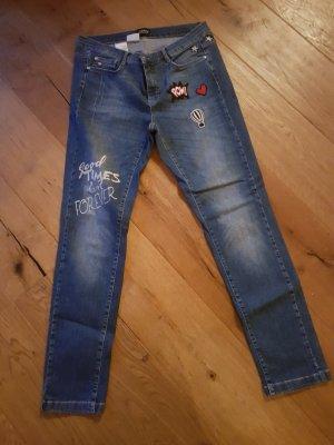 Amy Vermont Stretch jeans blauw