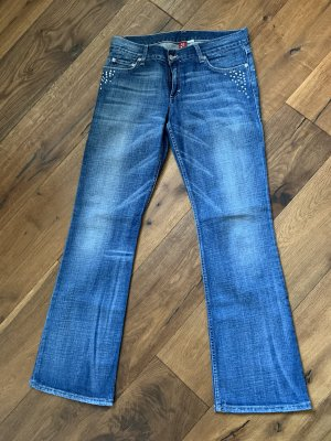H&M Divided Boot Cut Jeans steel blue