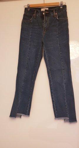 Mango Basics 3/4-jeans blauw