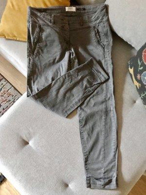 Sandwich Dopasowane jeansy szary