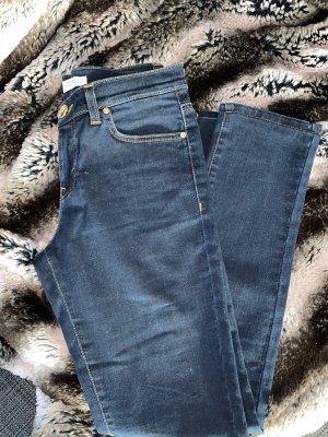 Versace Tube Jeans dark blue