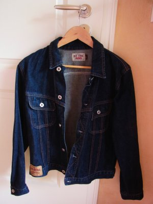 Big Star Denim Jacket dark blue cotton