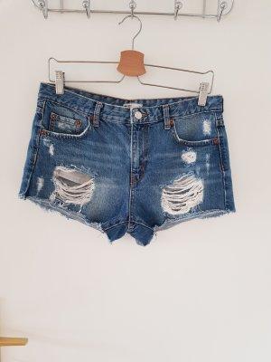 Gina Tricot Denim Shorts blue