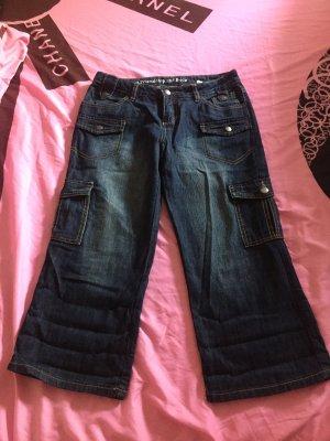 Street One Jeans a 3/4 blu scuro