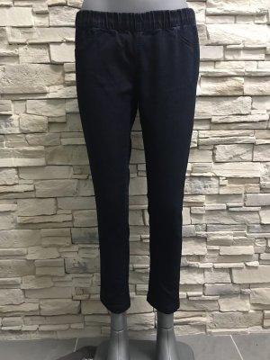Amisu 7/8 Length Jeans dark blue