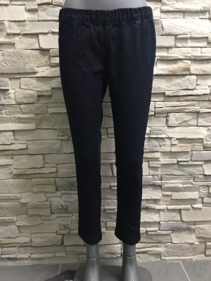 Amisu Jeans a 7/8 blu scuro
