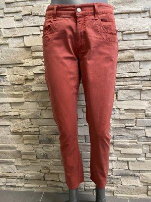 Angels Jeans stretch rouge brique