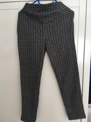 Pantalon cargo noir-gris