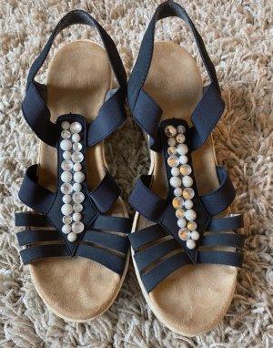 Rieker Dianette Sandals dark blue