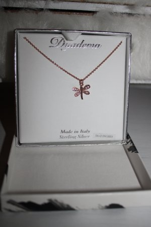 Necklace white-rose-gold-coloured