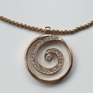 Bijou Brigitte Necklace rose-gold-coloured-gold-colored