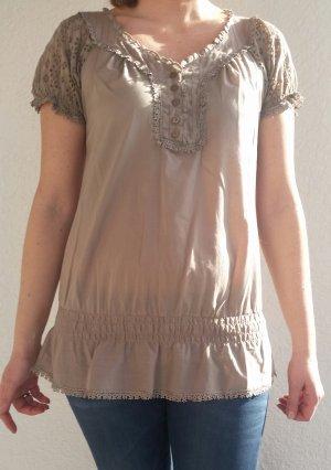 Schöne Khaki farbene Bluse