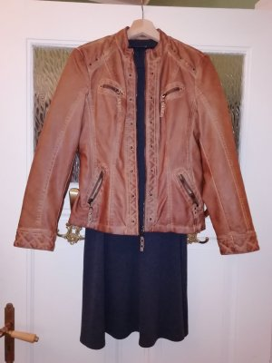 Canda Faux Leather Jacket multicolored