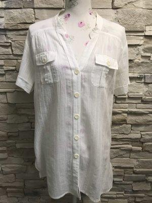 Schöne Kurzärmlig Bluse von M&S Gr M