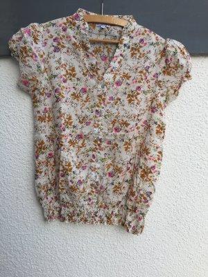Schöne Kurzarm-Bluse - Gr. M