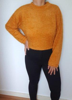 Schöne kurze lässige Strick Pullover