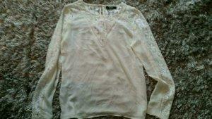 Vila Blusa in merletto bianco sporco