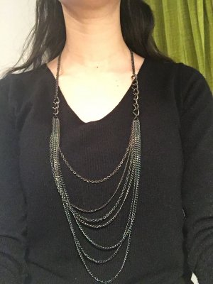 Collier gris anthracite