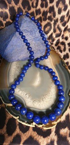 Collana di perle blu