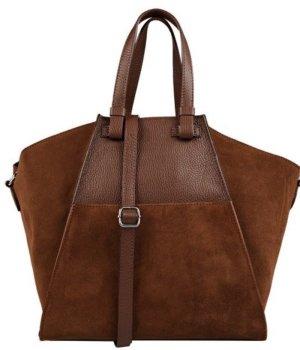 Schöne Leder Handtasche von Santini