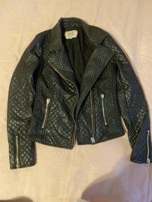Schöne Leder Jacke