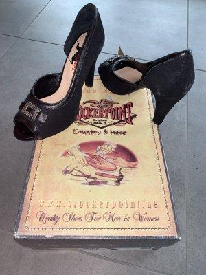 Stockerpoint High Heels black leather