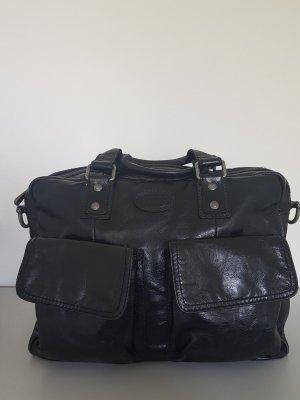 Schöne Lederlaptoptasche/Umhängetasche