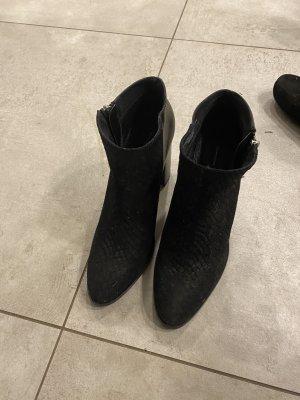 H&M Bottillons noir