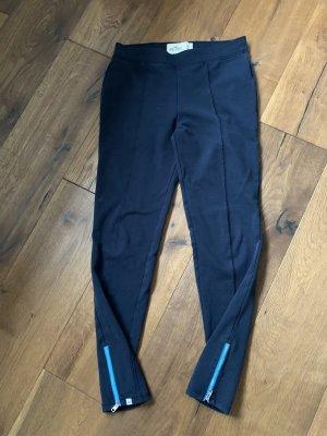 Hollister Leggings dark blue-azure