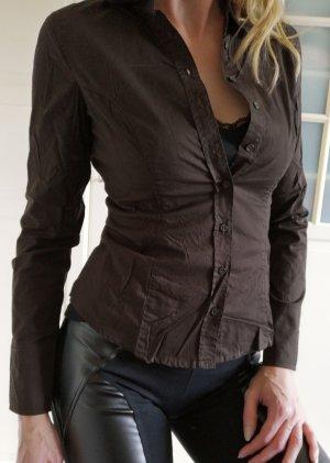 Schöne leichte Bluse langarm