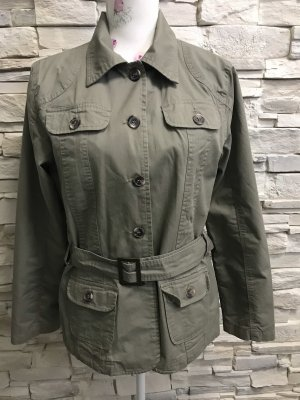 Gina Benotti Safari Jacket green grey