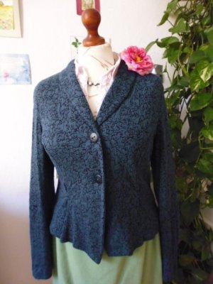 Walter Krines Berlin Veste en laine multicolore tissu mixte