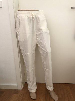 Schöne leichte Stoffhose * Hose von GUIDO MARIA KRETSCHMER * cremefarben