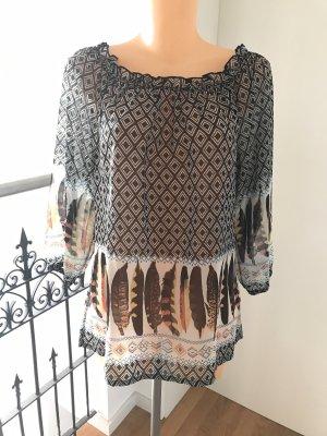 Schöne leichte Tunikabluse * tolles Muster