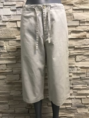 THE BRITISH SHOP Linen Pants natural white-oatmeal