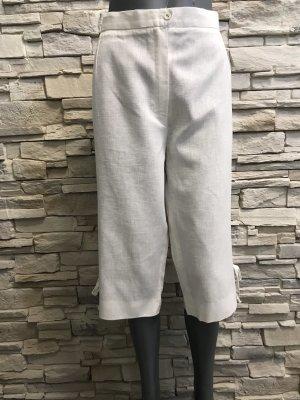 Pantalone di lino bianco