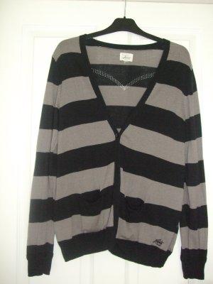 Levi's Cardigan black-grey brown cotton