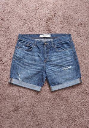 Abercrombie & Fitch Pantalón corto de tela vaquera azul
