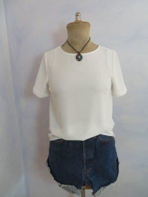 schöne lockere weiße Bluse - Gr. S - von Primark