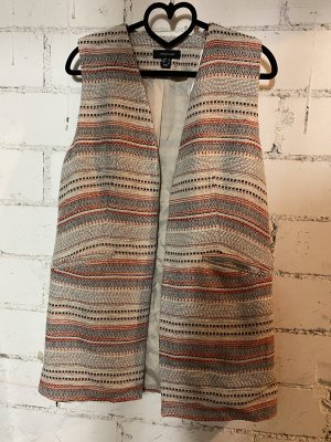 Atmosphere Long Knitted Vest multicolored
