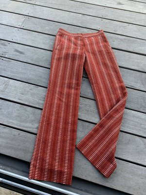 Louis Vuitton Jeansy ze stretchu rudy Bawełna