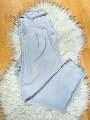 Schöne luftige Zara Sroffhose hellblau gr.M