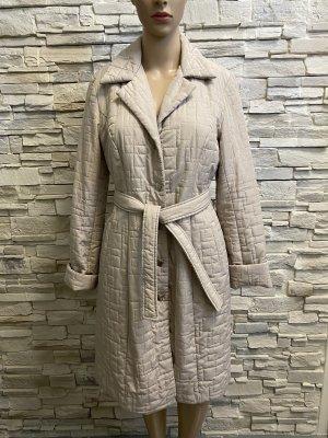 Manteau matelassé beige clair
