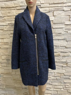 Campus Cappotto in lana blu-nero