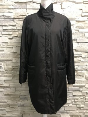 Jake*s Heavy Raincoat black brown-dark brown