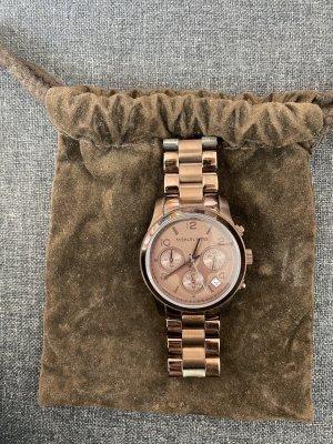 Schöne Michael Kors Uhr in braun
