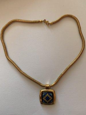M. Frey Wien Cadena de oro color oro-azul